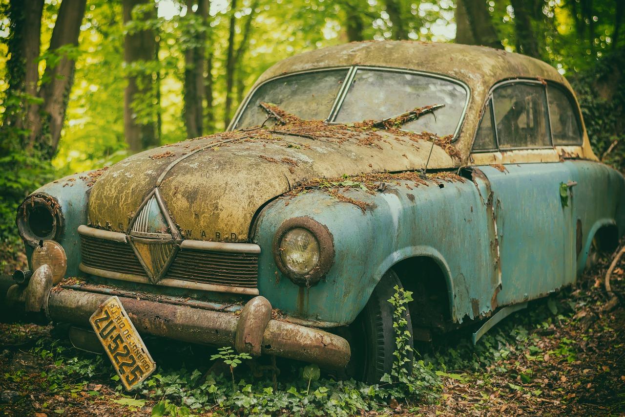 auto rezavé