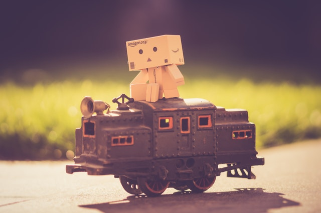 lokomotiva – hračka