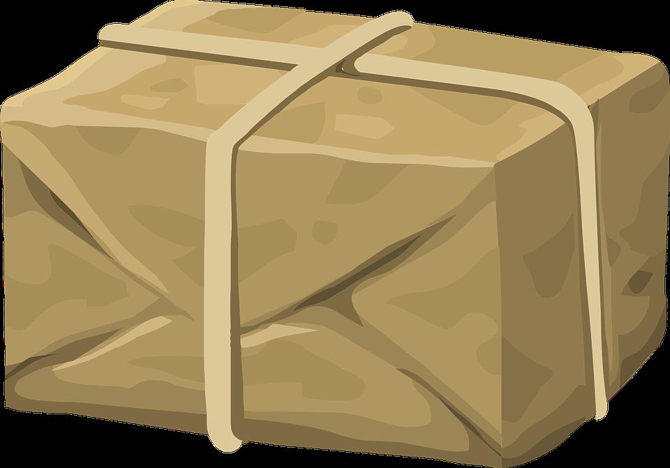 převázaný balík